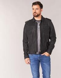 Kleidung Herren Lederjacken / Kunstlederjacken Pepe jeans NARCISO Schwarz