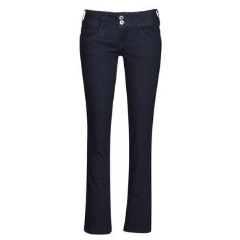 Kleidung Damen Straight Leg Jeans Pepe jeans GEN Blau / M15
