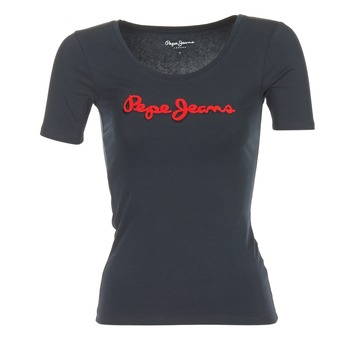 Kleidung Damen T-Shirts Pepe jeans MARIA Schwarz