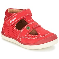 Schuhe Jungen Sandalen / Sandaletten Kickers GOODSPEED Rot