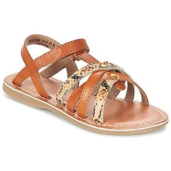 Schuhe Mädchen Sandalen / Sandaletten Kickers FARAH Camel