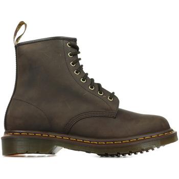 Schuhe Damen Boots Dr Martens 1460 Braun