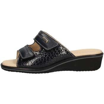 Schuhe Damen Pantoffel Susimoda 1530/14 Blau