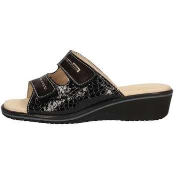 Schuhe Damen Pantoffel Susimoda 1530/14 BLACK