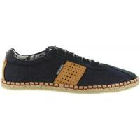 Schuhe Herren Leinen-Pantoletten mit gefloch Lois Jeans 84422 Azul