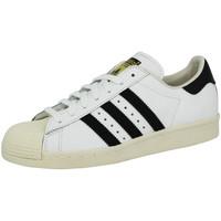 Schuhe Herren Sneaker Low adidas Originals SUPERSTAR 80S Weiss Unisex Sneakers Schuhe Neu blanc