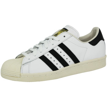Schuhe Herren Sneaker Low adidas Originals SUPERSTAR 80S Weiss Unisex Sneakers Schuhe Neu weiss