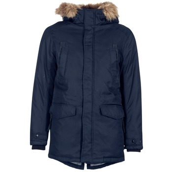 Kleidung Herren Parkas Jack & Jones LAND CORE Marine