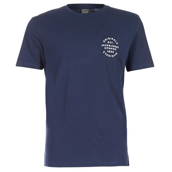 Kleidung Herren T-Shirts Jack & Jones ORGANIC ORIGINALS Marine