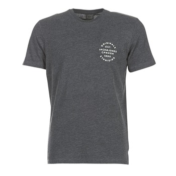 Kleidung Herren T-Shirts Jack & Jones ORGANIC ORIGINALS Grau