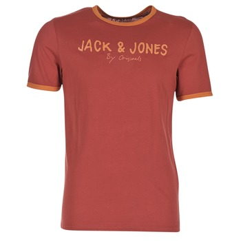 Kleidung Herren T-Shirts Jack & Jones RETRO ORIGINALS Rot