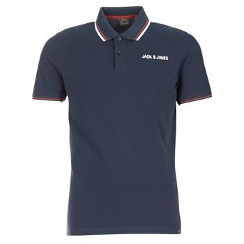 Kleidung Herren Polohemden Jack & Jones WAZ ORIGINALS Marine