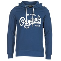 Kleidung Herren Sweatshirts Jack & Jones HAWL ORIGINALS Blau