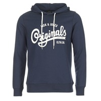 Kleidung Herren Sweatshirts Jack & Jones HAWL ORIGINALS Marine