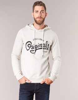 Kleidung Herren Sweatshirts Jack & Jones HAWL ORIGINALS Naturfarben