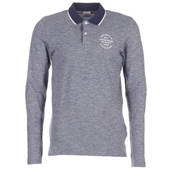 Kleidung Herren Langärmelige Polohemden Jack & Jones CYMBAL ORIGINALS Grau
