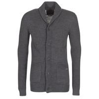 Kleidung Herren Strickjacken Jack & Jones INSPECT ORIGINALS Grau