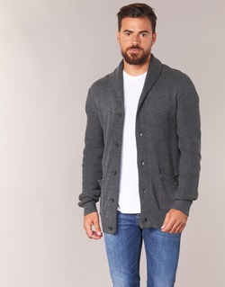 Kleidung Herren Strickjacken Jack & Jones INSPECT ORIGINALS Grau