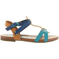 Schuhe Mädchen Sandalen / Sandaletten Cheiw 45677 Azul