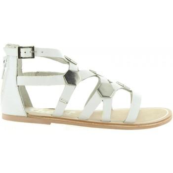 Schuhe Mädchen Sandalen / Sandaletten Cheiw 45632 Blanco