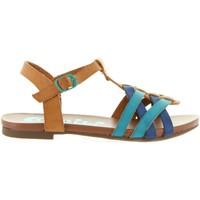 Schuhe Mädchen Sandalen / Sandaletten Cheiw 45650 Azul