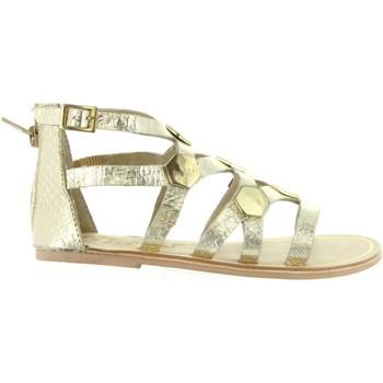 Schuhe Mädchen Sandalen / Sandaletten Cheiw 45632 Gold
