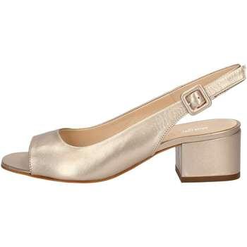Schuhe Damen Sandalen / Sandaletten Mariano Ventre 5674 Sandale Frau Platin Platin