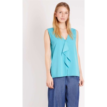 Kleidung Damen Tops / Blusen Emme Di Marella VIVY T-Shirts & Tops Frau Turquoise Turquoise