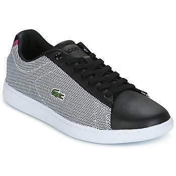 Schuhe Damen Sneaker Low Lacoste CARNABY EVO 117 1 SPW Schwarz