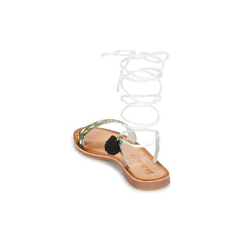 Lola Espeleta EDWINA Grün / Silbern  Schuhe Sandalen / Sandaletten Damen 47,19