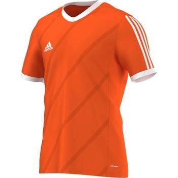 Kleidung Herren T-Shirts adidas Originals Tabela 14 Climalite Junior Orangefarbig