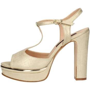 Schuhe Damen Sandalen / Sandaletten Silvana 771 Sandale Frau Platin Platin