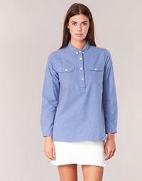 Kleidung Damen Hemden Armor Lux GRICHA Blau