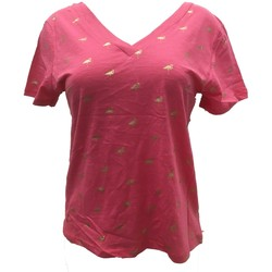 Kleidung Damen T-Shirts Dress Code Tee Shirt Zinka Rose signe or KT107 Rose