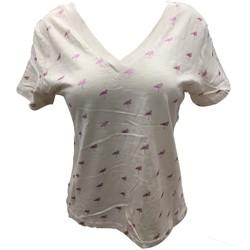Kleidung Damen T-Shirts Dress Code Tee Shirt Zinka Beige signe Rose KT107 Beige