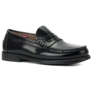 Schuhe Herren Slipper CallagHan 76100 Noir
