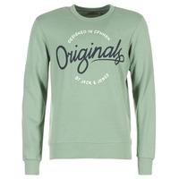 Kleidung Herren Sweatshirts Jack & Jones SWEEP ORIGINALS Grün