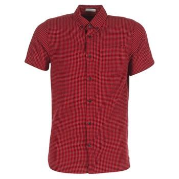 Kleidung Herren Kurzärmelige Hemden Jack & Jones JOHAN ORIGINALS Rot