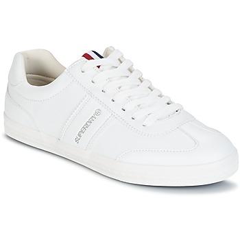 Schuhe Damen Sneaker Low Superdry COURT CLASSIC SLEEK TRAINER Weiss