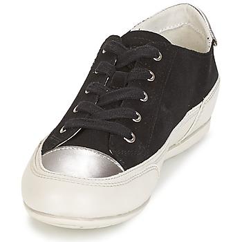 Geox D N.MOENA D - SCAM.STA+VIT.CER Schwarz - Schuhe Sneaker Low Damen 7034