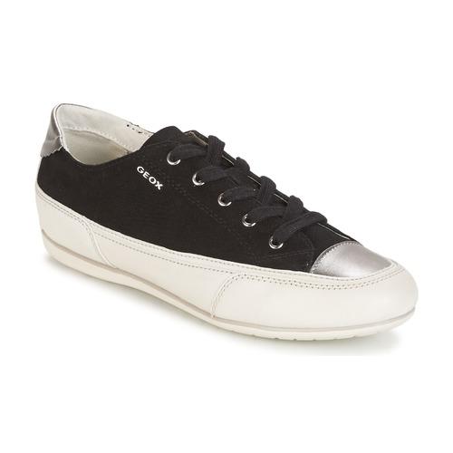 Geox D N.MOENA D - SCAM.STA+VIT.CER Schwarz  Schuhe Sneaker Low Damen 57,50