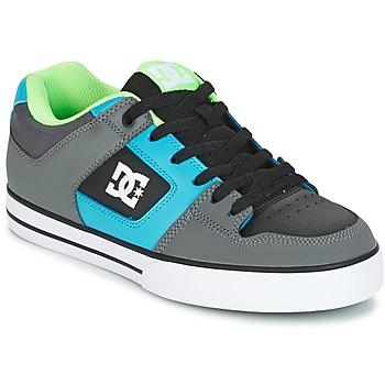 Schuhe Herren Skaterschuhe DC Shoes PURE Grau / Grün / Blau