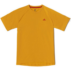 Kleidung Herren T-Shirts adidas Performance Tee-shirt Crew AESS Orange