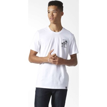 Kleidung Herren T-Shirts adidas Originals BJ8687 T-shirt Man White White