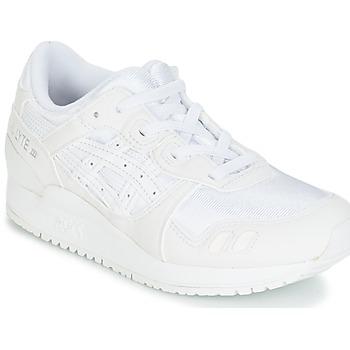 Schuhe Kinder Laufschuhe Asics GEL-LYTE III PS Weiss / Beige