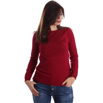 Kleidung Damen Pullover Y Not? Y17AI003 Pullover Frauen Rot Rot
