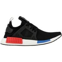 Schuhe Herren Sneaker Low adidas Originals NMDXR1 PK Schwarz-Rot-Blau