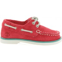 Schuhe Kinder Bootsschuhe Timberland A1L5V SEABURY Rojo