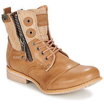 Schuhe Damen Boots Bunker SARA Maulwurf