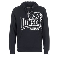 Kleidung Herren Sweatshirts Lonsdale TADLEY Schwarz
